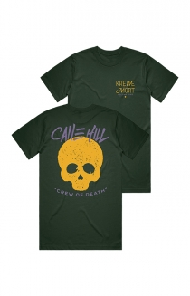 Krewe of Death Tee - Forest Green