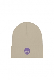 Krewe of Death Beanie - Natural