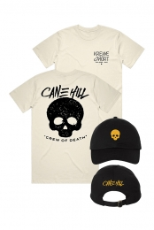 Skull Dad Hat + Krewe Tee (Natural)