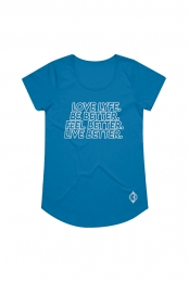 Live Better Ladies' Tee (Royal)