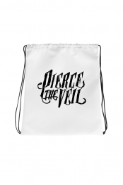 Logo Cinch Bag (White)