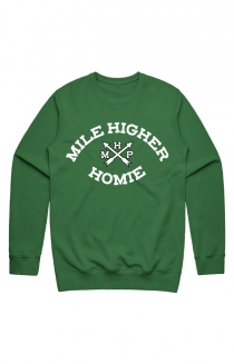The Homie Crewneck (Clover)