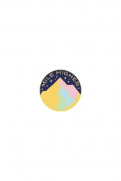 Starry Night (Circle Enamel Pin)