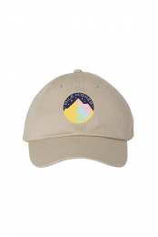 Starry Night Dad Hat (Beige)
