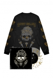 The Devils Cut LP (Translucent w/ Gold Splatter) + Long Sleeve Tee