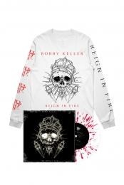 The Devils Cut LP (Translucent w/ Red Splatter) + Long Sleeve Tee