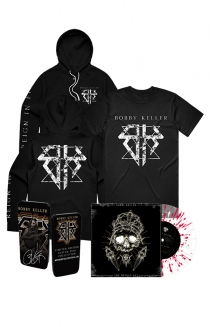 The Devils Cut LP (Translucent w/ Red Splatter) Ultimate Bundle