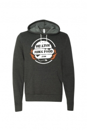 Hellthy Junk Food Seal Hoodie (Dark Heather Grey)
