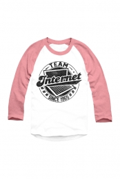 #TeamInternet Raglan (Snow Red)