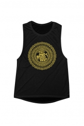Women's Mandala Tank (Black)
