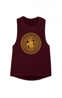 Women's Mandala Tank (Red)