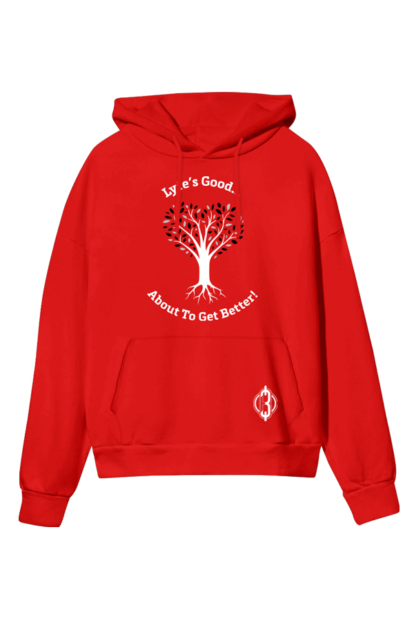 Tree of Lyfe Pullover Hoodie (Red)