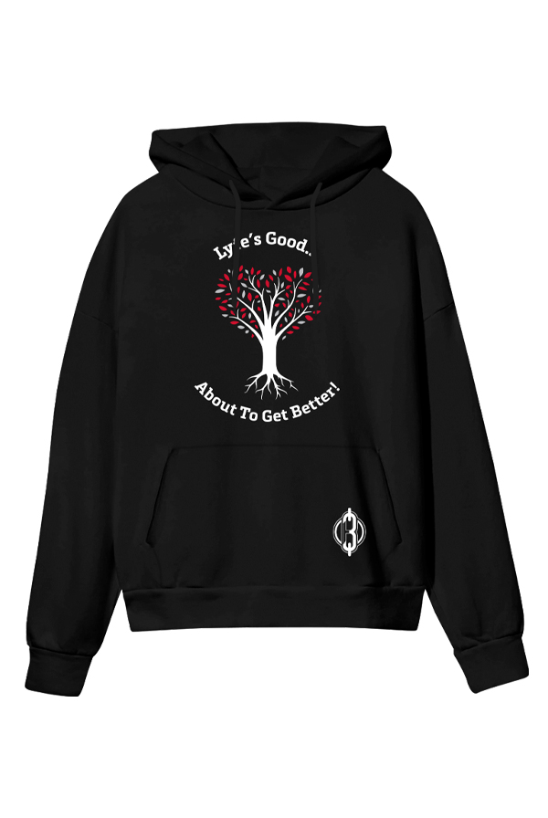Tree of Lyfe Pullover Hoodie (Black)