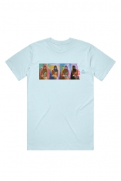 Aoife Color Tee (Light Blue)