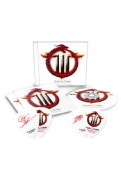 Rejoice In The Suffering CD + Red Signature Pick Set (2)