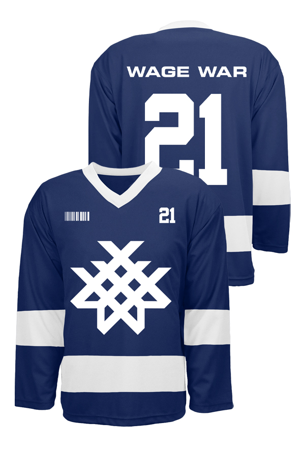 Wage War Hockey Jersey