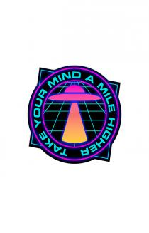 Mile Higher UFO Sticker