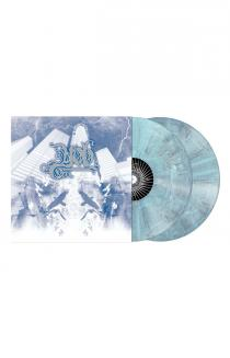 The Unreal Never Lived LP (White / Blue / Grey Marbled)