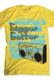 The Bigger The Better (yellow)