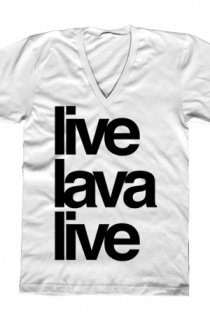 The live / lava / live V-Neck