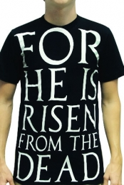 He Is Risen (Black)