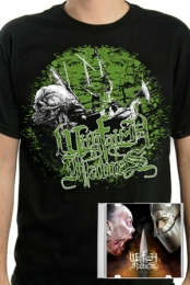 CD + Viking Skull Ship shirt