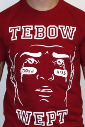Tebow Wept - The Jokes On You