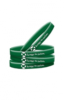 Lacrosse The Nations Wristband (Green)