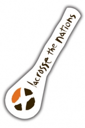 Lacrosse the Nations Sticker