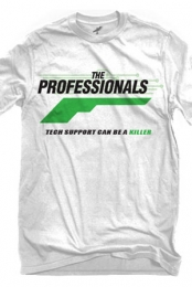 The Professionals Logo (White)