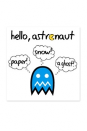 Paper! Snow! A Ghost!