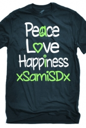 Peace Love Happiness T-Shirt