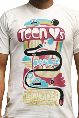 Teen t shirt indefinitely