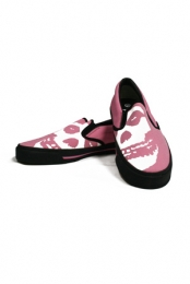 Misfits Face Off Slip On (Pink)