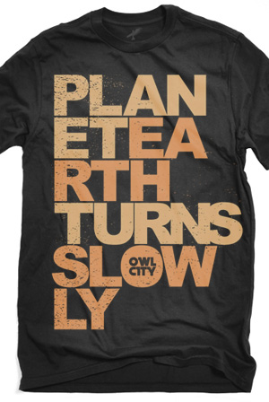 Owl City UK Merch - Online Store on District Lines