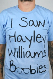 Hayley Williams Boobies (Baby Blue)