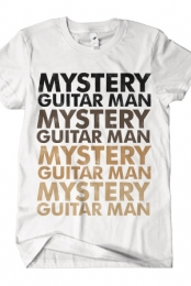 Mystery Guitar Man (Brown on White)