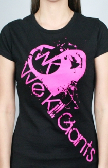 WKG Heart T-Shirt (Female)