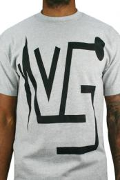 Vital Sign Logo T-Shirt (Heather Grey)