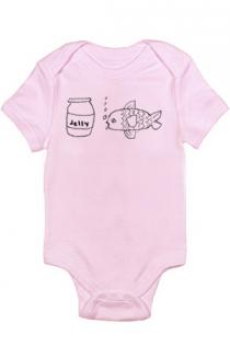Jellyfish Infant Bodysuit (Pink)