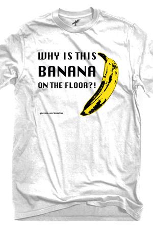 cc8d90b51 Banana Shirt T-Shirt - BMSaltao T-Shirts - Online Store on District Lines