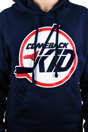 f631b284 Hockey Hoodie Hoodie - Comeback Kid Hoodies - Online Store on District Lines