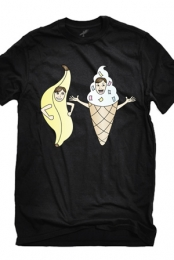 Bananalew & Coneith (Black Crew Neck)