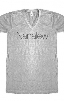 Nanalew (Heather Grey V-Neck)