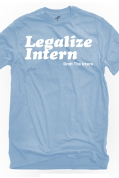 Legalize Brett (Light Blue)