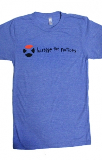 Lacrosse The Nations (Athletic Blue)