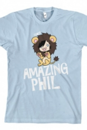 Phil in a Lion Suit (Light Blue)