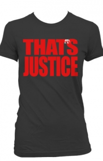 That's Justice (Womens Charcoal)