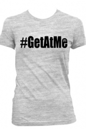Get At Me (Womens Heather Grey)