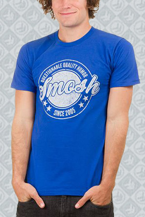Questionable Quality Humor (Royal Blue)